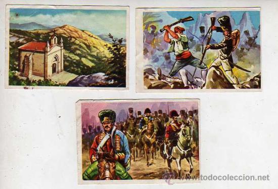CROMOS DE MONTSERRAT SU HISTORIA Y SUS LEYENDAS 1,50 EUROS UNIDAD (Coleccionismo - Cromos y Álbumes - Cromos Antiguos)