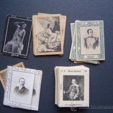 Coleccionismo Cromos antiguos: 50 FOTOTIPIAS / CROMOS DE CAJAS DE CERILLAS DEL GREMIO DE FABRICANTES DE DIFERENTES SERIES . Lote 25212557