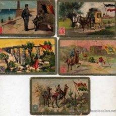 Coleccionismo Cromos antiguos: CROMOS DE CHOCOLATE JUNCOSA - COLECCIÓN CORREOS UNIVERSALES 2 EUROS UNIDAD -SON DE LA SERIE B. Lote 25961221