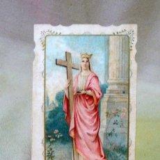 Coleccionismo Cromos antiguos: ESTAMPA, RECORDATORIO, CROMO RELIGIOSO, SANTA HELENA, 10 X 5 CM. Lote 26214496
