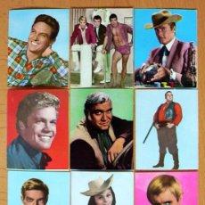 Coleccionismo Cromos antiguos: FIGURAS DE LA TV - EDITORIAL FHER 1965 - LOTE DE 123 CROMOS, SUELTOS A 0,90 EUROS C/U.. Lote 36552171
