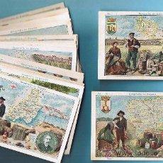 Coleccionismo Cromos antiguos: LOTE DE CROMOS. CROMOS SUELTOS; 2,00 €. GEOGRAFÍA DE ESPAÑA. CHOCOLATE CHOCOLATES PI.. Lote 43876479