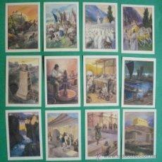 Coleccionismo Cromos antiguos: A-035 HISTORIA DEL PROGRESO HUMANO.-SERIE IX.-COLECCION DE 12 CROMOS.-EDICIONES BARSAL.. Lote 27520571