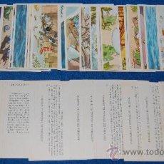 Coleccionismo Cromos antiguos: SIMBAD EL MARINO - VALOR ¡COLECCIÓN COMPLETA E IMPECABLE!. Lote 27912356