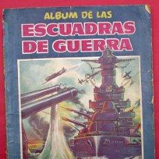 Coleccionismo Cromos antiguos: LOTE DE CROMOS. CROMOS SUELTOS; 0,60 €. ÁLBUM DE LAS ESCUADRAS DE GUERRA. CRISOL.. Lote 61323473