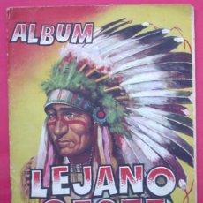 Coleccionismo Cromos antiguos: LOTE DE CROMOS. CROMOS SUELTOS; 1,00 €. ALBUM LEJANO OESTE 1. EDICIONES GENERALES. REVISTAS PASEO.. Lote 45387157