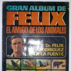 Coleccionismo Cromos antiguos: LOTE DE CROMOS. CROMOS SUELTOS; 0,40 €. GRAN ÁLBUM DE FÉLIX EL AMIGO DE LOS ANIMALES BRUGUERA 1970. Lote 47551181