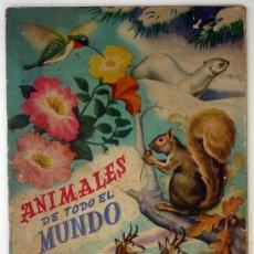 Coleccionismo Cromos antiguos: LOTE DE CROMOS. CROMOS SUELTOS; 0,40 €. ANIMALES DE TODO EL MUNDO. EDITORIAL FHER.. Lote 30965049