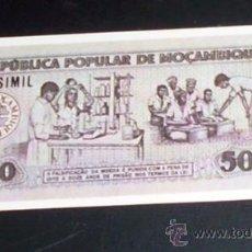 Coleccionismo Cromos antiguos: CROMO BILLETES DEL MUNDO - DIDEC - NUM 155 - MOZAMBIQUE 500 ESCUDOS. Lote 28363477