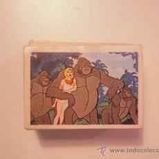 Coleccionismo Cromos antiguos: TARZAN (FHER) LOTE DE 50 CROMOS NUEVOS. Lote 28569057