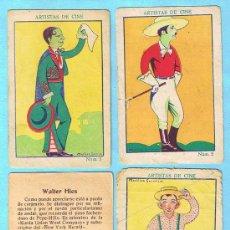 Coleccionismo Cromos antiguos: LOTE DE 27 CROMOS. CROMOS SUELTOS; 2,00 €. ARTISTAS DE CINE. CHOCOLATE AMATLLER.. Lote 28586075