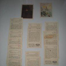 Coleccionismo Cromos antiguos: LOTE 20 CROMOS CHOCOLATES ATMALLER. Lote 29399235