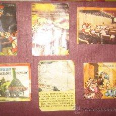 Coleccionismo Cromos antiguos: 6 CROMOS DE BIMBO . LA AVENTURA DEL TREN. Lote 29746779