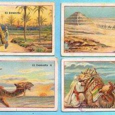 Coleccionismo Cromos antiguos: LOTE DE CROMOS. CROMOS SUELTOS; 3,00 €. EL DESIERTO. CHOCOLATE JUNCOSA.. Lote 24318837