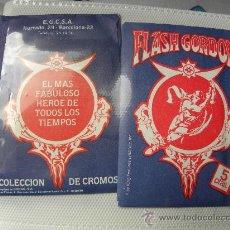 Coleccionismo Cromos antiguos: SOBRE SIN ABRIR FLASH GORDON . Lote 142421998