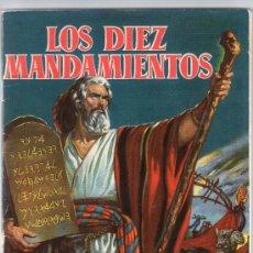 Coleccionismo Cromos antiguos: 100 CROMOS SUELTOS DEL ALBUM LOS DIEZ MANDAMIENTOS DE BRUGUERA 1959 CROMO - TENGO CASI TODOS. Lote 245398615