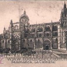 Coleccionismo Cromos antiguos: POSTAL ORIGINAL DECADA DE LOS 30. SALAMANCA. LA CATEDRAL. Nº 411. VER TAMAÑO Y EXPLICACION. Lote 30245327