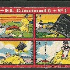 Coleccionismo Cromos antiguos: EL DIMINUTO - COLECCION COMPLETA 20 CROMOS - VER FOTOS ADICIONALES - (CR-82). Lote 30280697