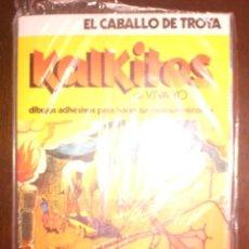 Coleccionismo Cromos antiguos: KALKITOS - EL CABALLO DE TROYA. Lote 178164853