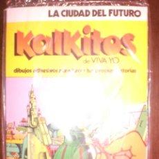 Coleccionismo Cromos antiguos: KALKITOS - LA CIUDAD DEL FUTURO. Lote 178164838