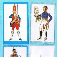 Coleccionismo Cromos antiguos: LOTE DE CROMOS. CROMOS SUELTOS; 0,80 €. INFANTERIA. RUIZ ROMERO, 1966.. Lote 30495472