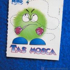 Coleccionismo Cromos antiguos: CROMO PEGATINA DE HELADOS MIKO COLECCIÓN -TAS-AÑO 1998 TAS MOSCA. Lote 30709795