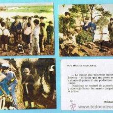 Coleccionismo Cromos antiguos: LOTE DE CROMOS. CROMOS SUELTOS; 0,60 €. DOS AÑOS DE VACACIONES. EDICIONES TORAY, 1963.. Lote 45083882