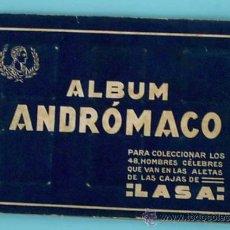 Coleccionismo Cromos antiguos: LOTE DE CROMOS. CROMOS SUELTOS; 1,50 €. ÁLBUM ANDROMACO. PERSONAJES CÉLEBRES.. Lote 30832013