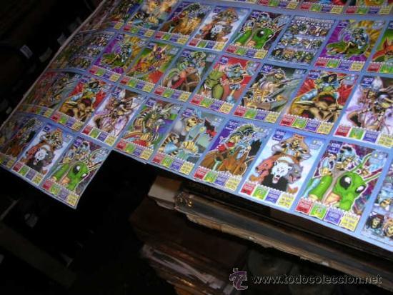 Coleccionismo Cromos antiguos: CROMOS BOLLYCAO KAOS THE LEGEND , LAMINA CON 88 CROMOS, POCAS SEÑALES DE USO - Foto 4 - 38045016