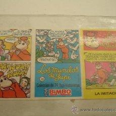 Coleccionismo Cromos antiguos: LOS MUNDOS DE YUPI BIMBO . Lote 31245551