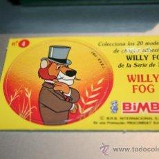 Coleccionismo Cromos antiguos: CROMOS WILLY FOG BIMBO 1983. Lote 31370582