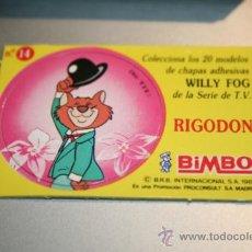 Coleccionismo Cromos antiguos: CROMOS WILLY FOG BIMBO 1983. Lote 31370617