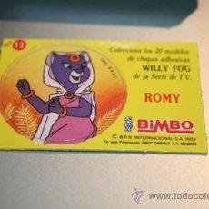 Coleccionismo Cromos antiguos: CROMOS WILLY FOG BIMBO 1983. Lote 31370625