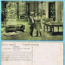 Coleccionismo Cromos antiguos: LOTE DE CROMOS. CROMOS SUELTOS; 1,50 €. TOSCA. SERIE 5ª. FRANCESCA BERTINI. CH. AMATLLER. MARCA LUNA. Lote 31457041