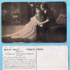 Coleccionismo Cromos antiguos: LOTE DE CROMOS. SUELTOS; 1,00 €. LILIANA SERIE 4ª. FRANCESCA BERTINI. CHOCOLATE AMATLLER MARCA LUNA. Lote 31457080