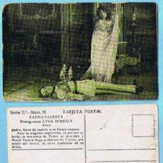 Coleccionismo Cromos antiguos: LOTE. CROMOS SUELTOS; 1,50 €. CARNAVALESCA. SERIE 7ª. LYDA BORELLI. CHOCOLATE AMATLLER. MARCA LUNA. Lote 31457139