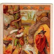 Coleccionismo Cromos antiguos: FIRMA DE HOMBRES CELEBRES Nº 34. CARLOS WEBER.. Lote 31417065