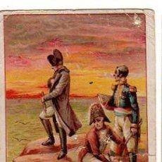 Coleccionismo Cromos antiguos: FIRMA DE HOMBRES CELEBRES Nº 19. NAPOLEON BONAPARTE.. Lote 31417423