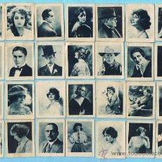 Coleccionismo Cromos antiguos: LOTE CROMOS SUELTOS, 1,20 €. CÉLEBRES ARTISTAS CINEMATOGRÁFICOS, CINE. CHOCOLATE JUNCOSA.. Lote 31462808