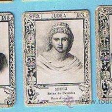 Coleccionismo Cromos antiguos: LOTE DE CROMOS. CROMOS SUELTOS; 1,20 €. FOTOTIPIAS DE CERILLAS. SERIE 19. REINAS Y PRINCESAS.. Lote 44399863