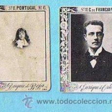 Coleccionismo Cromos antiguos: LOTE DE CROMOS. CROMOS SUELTOS; 1,20 €. FOTOTIPIAS DE CERILLAS. SERIE 11. DUQUES Y PRINCESAS.. Lote 32001440