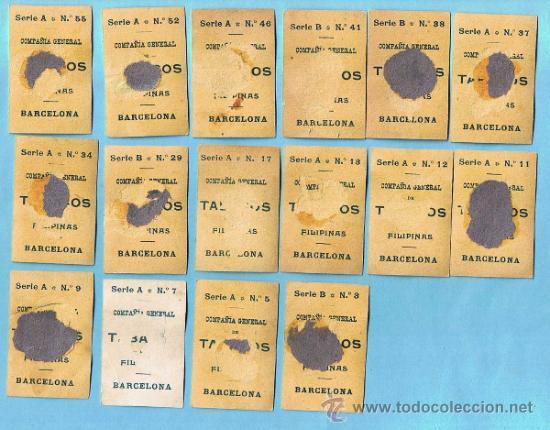 Coleccionismo Cromos antiguos: LOTE DE CROMOS. CROMOS SUELTOS; 3,00 €. FOTOTIPIAS. SERIE A, B. ARTISTAS. TABACOS DE FILIPINAS. - Foto 2 - 221858876