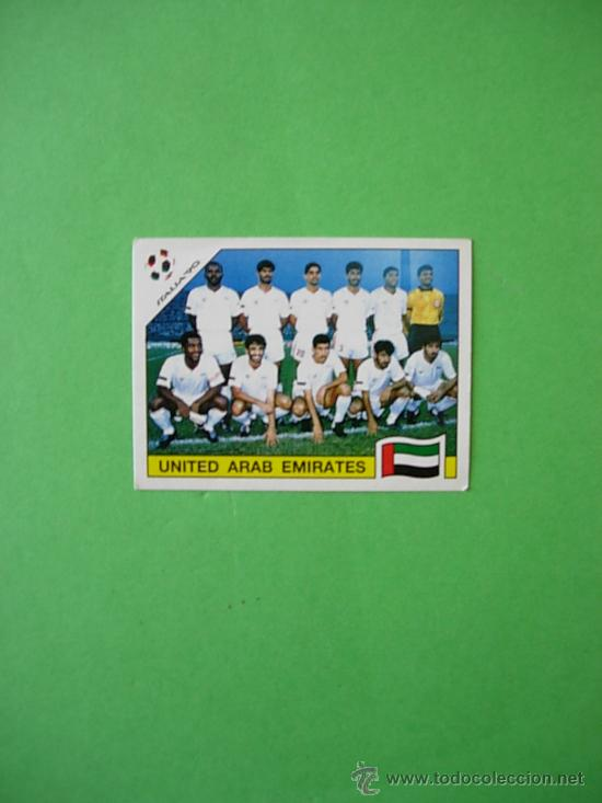 Cromo Panini Mundial Italia 90 World Cup 1990 Comprar Cromos