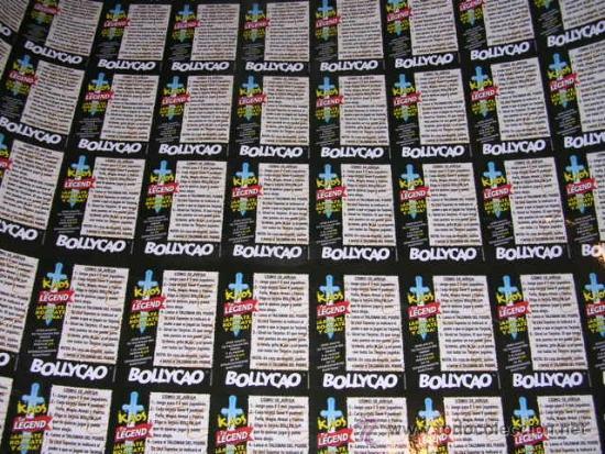Coleccionismo Cromos antiguos: CROMOS BOLLYCAO KAOS THE LEGEND , LAMINA CON 88 CROMOS, POCAS SEÑALES DE USO - Foto 5 - 38045016