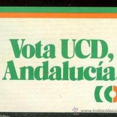 Coleccionismo Cromos antiguos: PEGATINA POLITICA . NUNCA PEGADA . Lote 32388656