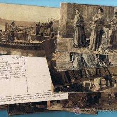 Coleccionismo Cromos antiguos: COLECCION COMPLETA DE LA PELICULA FABIOLA.DIR. ENRICO GUAZZONI, ELENA SAGRI. AMATLLER MARCA LUNA. Lote 32396121