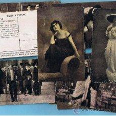 Coleccionismo Cromos antiguos: COLECCIÓN COMPLETA DE LA PELICULA LILIANA. FRANCESCA BERTINI. CHOCOLATE CHOCOLATES AMATLLER. 1910'S.. Lote 32396573