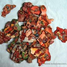 Coleccionismo Cromos antiguos: 43 CROMOS DEL PUZLE PROVINCIAS DE ESPAÑA - CHOCOLATES JAIME BOIX - AÑOS 30. Lote 32532081