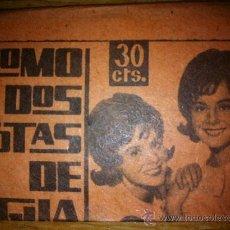 Coleccionismo Cromos antiguos: LOTE 2 SOBRE SOBRES CROMOS DEL ALBUM COMO DOS GOTAS DE AGUA PILI Y MILI FHER TAMBIEN SUELTOS. Lote 296766523