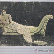 Coleccionismo Cromos antiguos: CROMO POSTAL CHOCOLATES AMATLLER CINE TOSCA -FRANCESCA BERTINI - SERIE 5 Nº 1. Lote 32878814